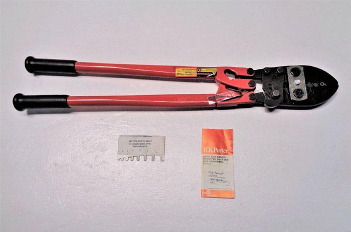 "HK Porter 25"" Wire Rope Ferrule Swaging Crimping Tool 0190HSL"