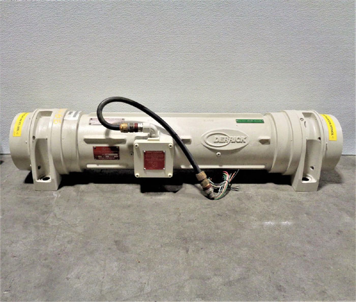 Derrick Super G Integrated Vibratory Motor, 2.5HP, 3 Ph, EX-38-18-460/480-6-001