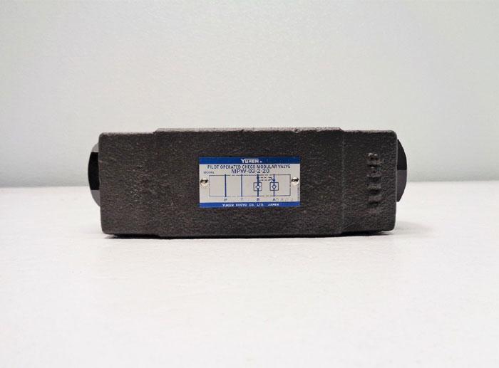 Yuken Pilot Operated Check Modular Valve MPW-03-2-20