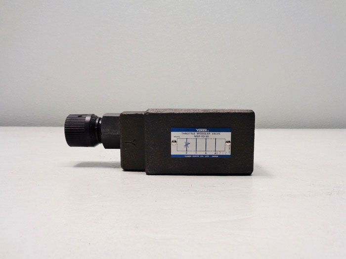 Yuken Throttle Modular Valve MSP-03-30
