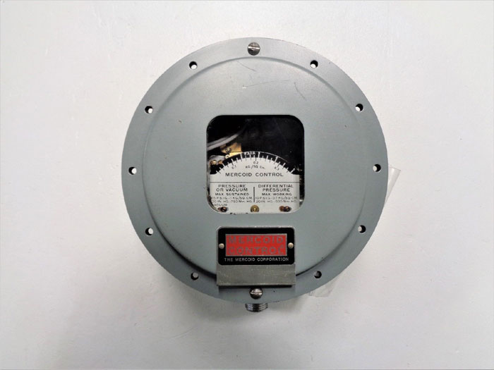 Mercoid Control PGW-2-P2 Gas Pressure & Differential Pressure Switch