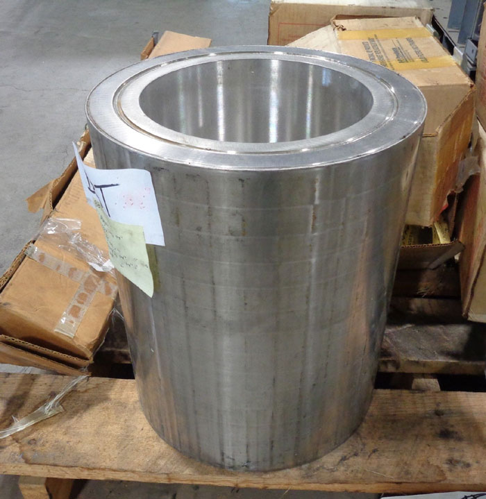 """Magnetic Drive Coupling, 316 Stainless Steel, 15"""" Tall x 12.5"""" OD x 8.625"""" ID"""