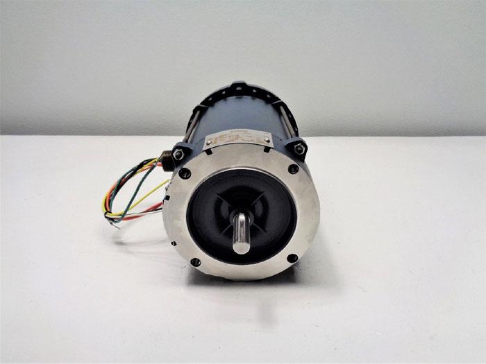 Leeson Motor A6C17XC22K, 111085.00, 1/2HP, 115/230V, 1725 RPM, PH 1