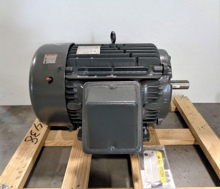 US Motors BK61 Motor, 40 HP, 3 Phase, 3555 RPM, 460 Volt, #8P40P1CS