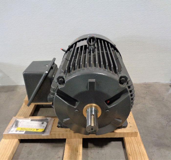 US Motors BK61 Motor, 40 HP, 3 Phase, 3555 RPM, 460 Volt, #8P40P1CS