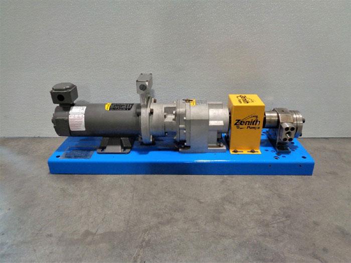 Zenith Gear Pump 11-90004-5000-0 w/ Nord Gearbox SK 372.1 N140T1 w/ Baldor Motor