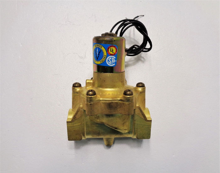 "Skinner Electric 2-Way Solenoid Valve, 1"" NPT #L2LB6150"