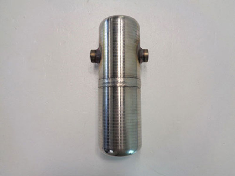"Stainless Steel Condensate Pot, 1/2"" NPT, 11"" Length, 4"" Width, #CP3C8D"