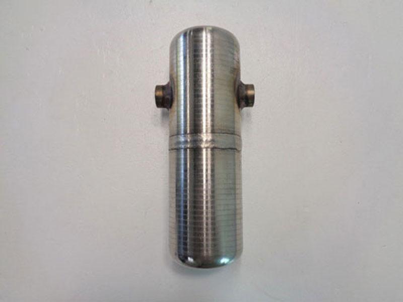 "Stainless Steel Condensate Pot, 1/2"" NPT, 11"" Length, 4"" Width, #CP3C8D"