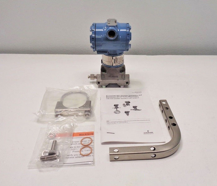Rosemount Pressure Transmitter 3051CG2A22A1AB4 WITH 0 to 250 in H2O