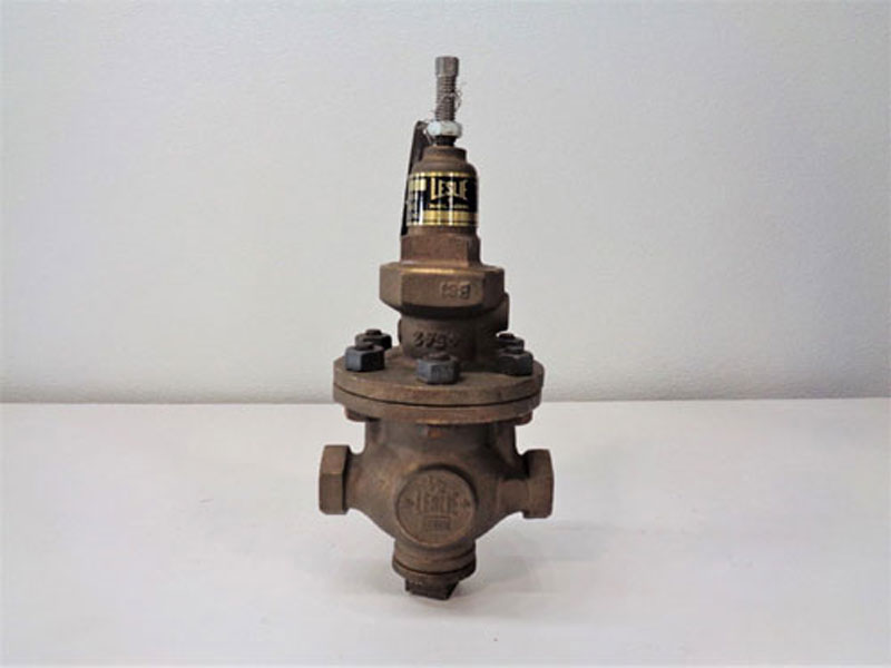 "Leslie 1/2"" NPT Regulator LA-5, Bronze"