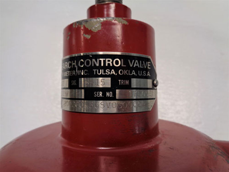 """Badger 1/2"""" Research Control Valve 1002GCN36SV0S00000"""