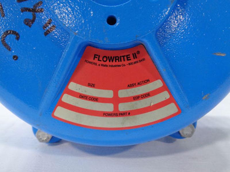 """Flowrite II Powers 1-1/2"""" Bronze Control Valve"""