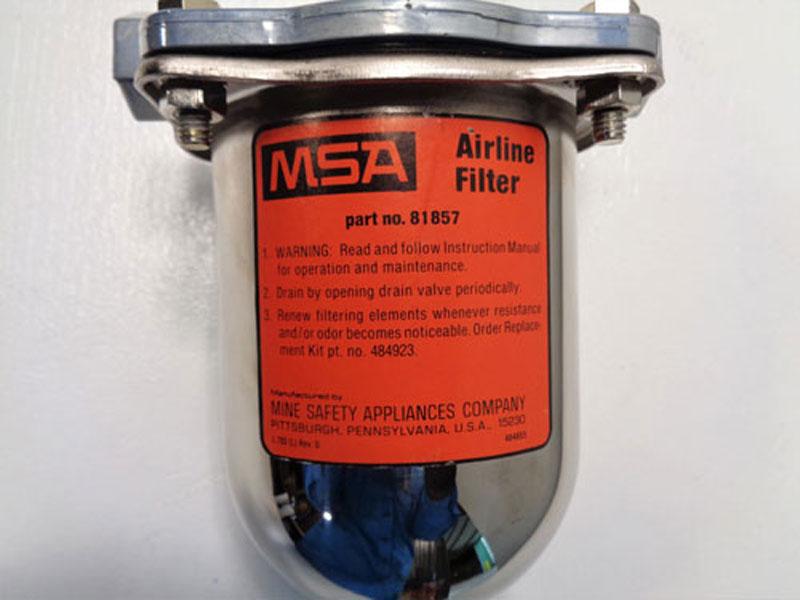 "MSA 1/2"" NPT Airline Filter 81857"