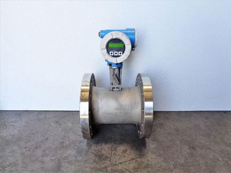 "Endress Hauser Prowirl 72 Vortex Flowmeter 6"" 300# 72F1F-SM3BA1PAB4AW, Stainless"