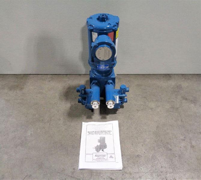 Neptune Diaphragm Metering Pump #500-D-N3-FA-100737, 0.8 GPH, 1000 PSI