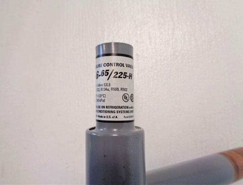 Sporlan Head Pressure Regulating Valve ORI-6-65/225H