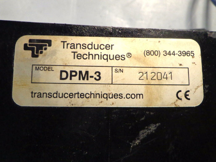 TRANSDUCER TECHNIQUES MOBILE KIT LOAD CELL DISPLAYS DPM-3 & 10K LOAD CELLS