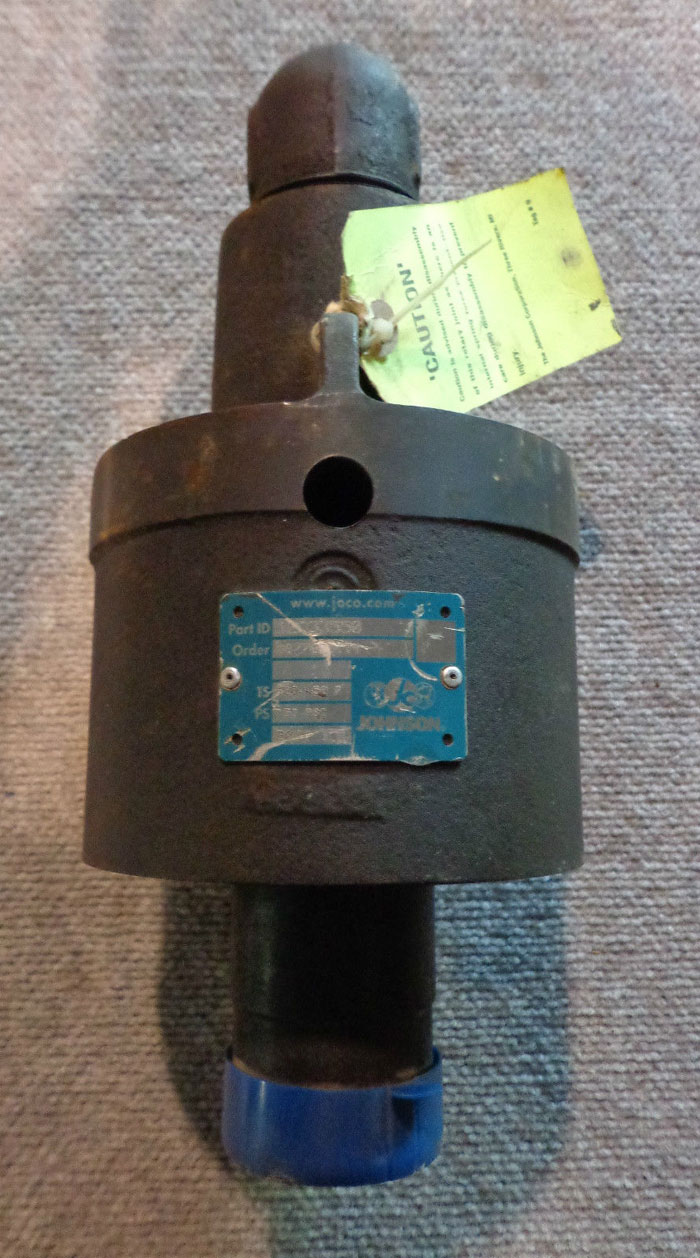 "JOHNSON PRESSURE WATER 2"" JOINT VALVE 12D33550"