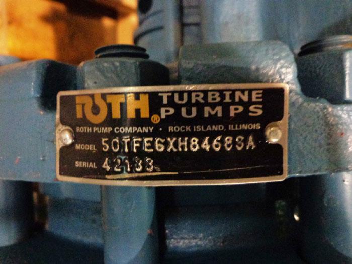 ROTH TURBINE PUMP 50TFE6XH84683A