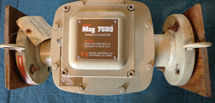 BROOKS MAG7500 MAGNETIC FLOW METER 6503C5ATF8AAFA
