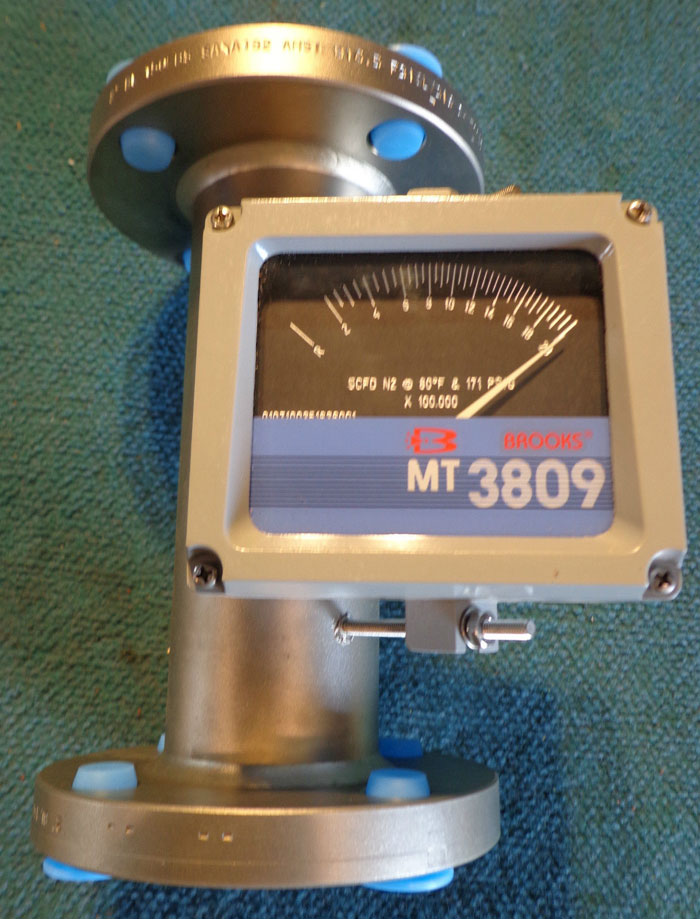 """BROOKS MT3809 2"""" 150# VARIABLE AREA FLOWMETER 3809EB5DAKAA1A1"""