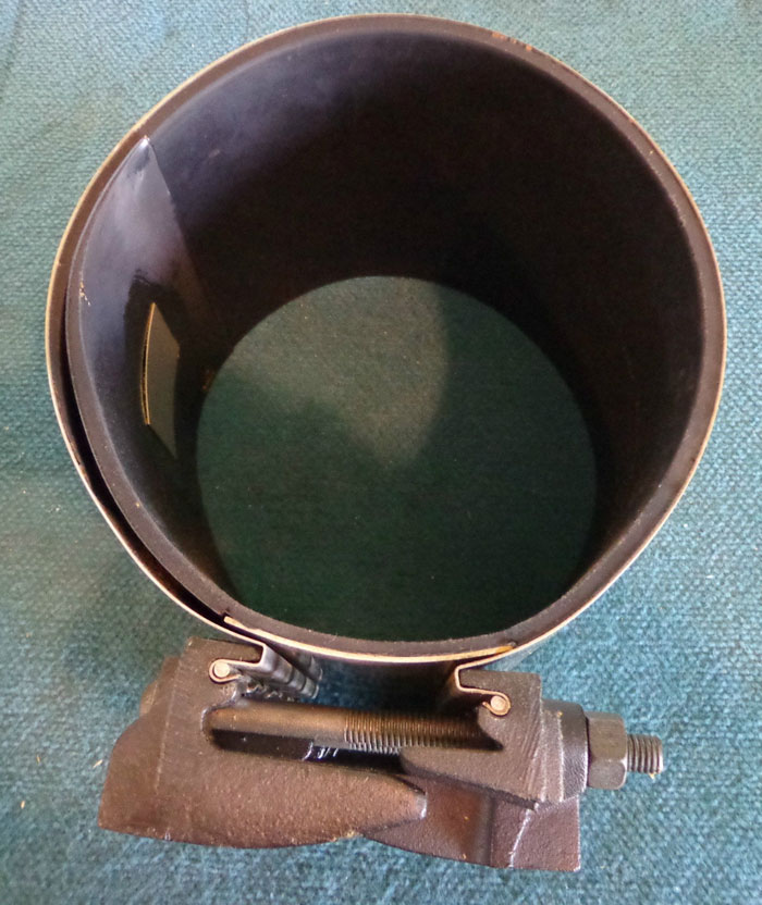 "DMD DRESSER 360 GAS REPAIR CLAMP 8""  8.54 - 8.94 RANGE"