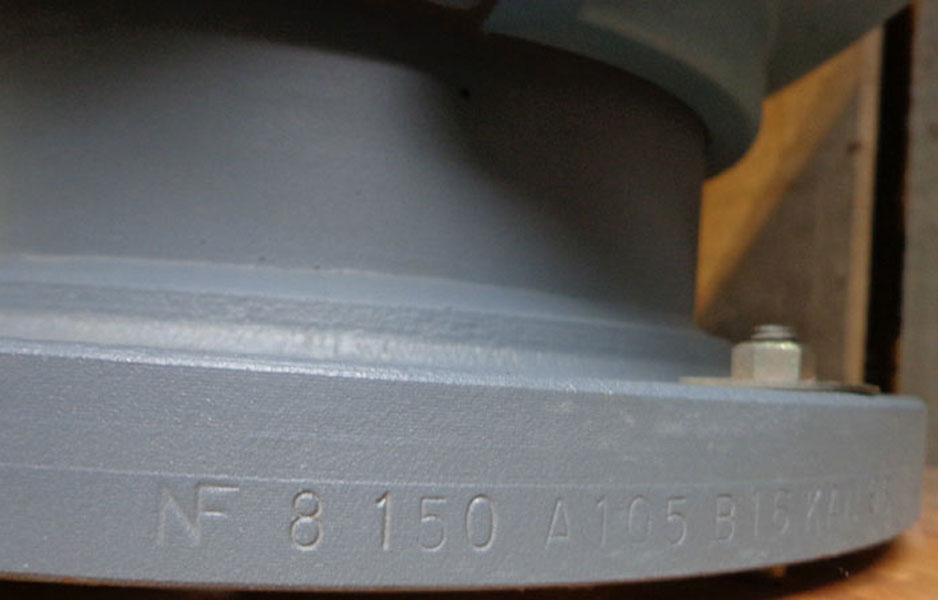 "FOXBORO 8"" SERIES 8000 MAGNETIC FLOW TUBE 8008-BTR-G"