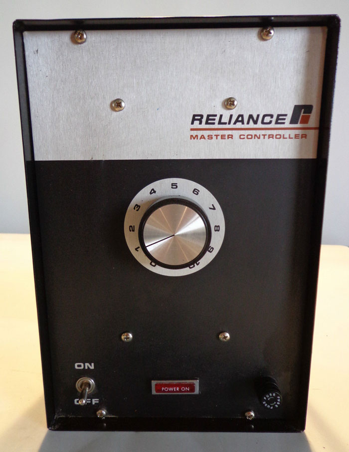 RELIANCE MASTER SPEED CONTROLLER  - #9C53