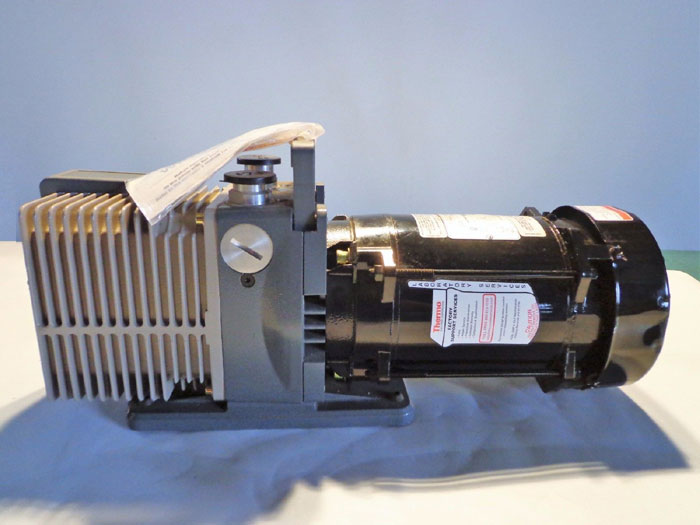 THERMO ELECTRONIC CORP VACUUM PUMP - MODEL 6822 w/ MOTOR