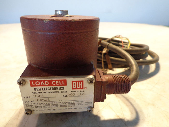 BLH LOAD CELL U3G1 - 200LBS.