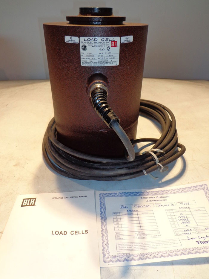 BLH ELECTRONICS C2P1 LOAD CELL 200K