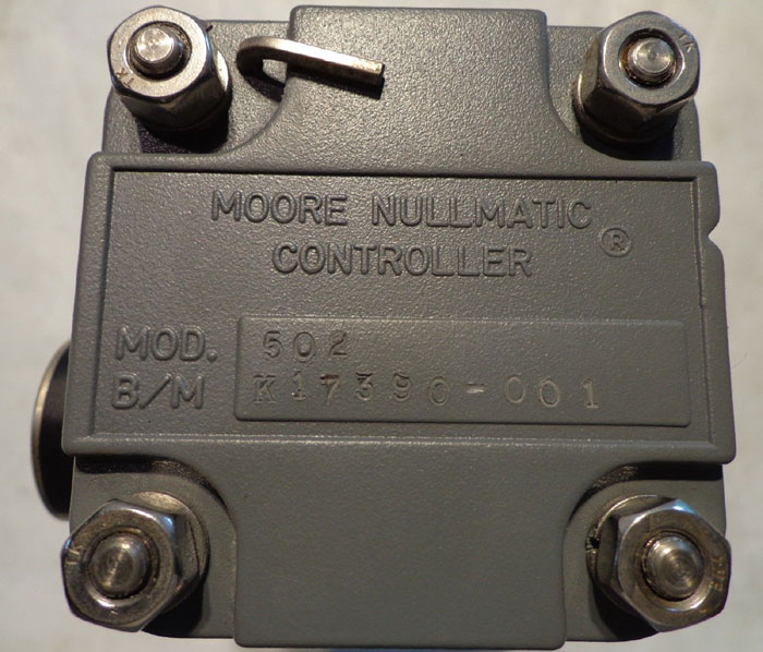 MOORE NULLMATIC CONTROLLER - MODEL 502