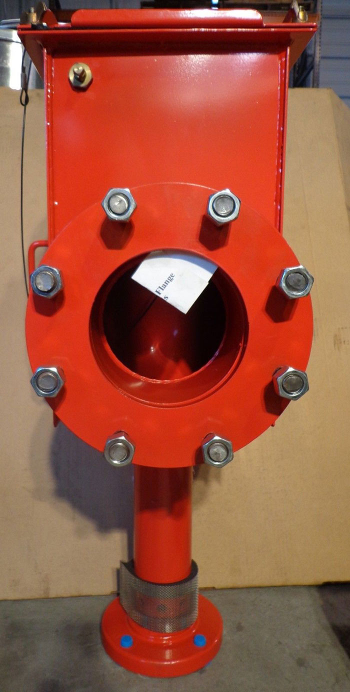 "NATIONAL FOAM 6"", FOAM CHAMBER, Model MCS17, Type B"