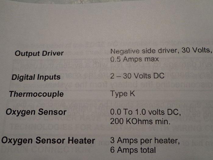 EMIT AFR CONTROLLER KIT w/ ACCESSORIES ENG-D-150L