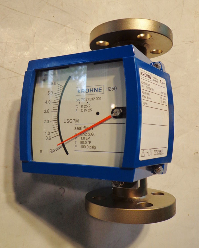 KROHNE H250-HC-M9 VARIABLE AREA FLOW METER