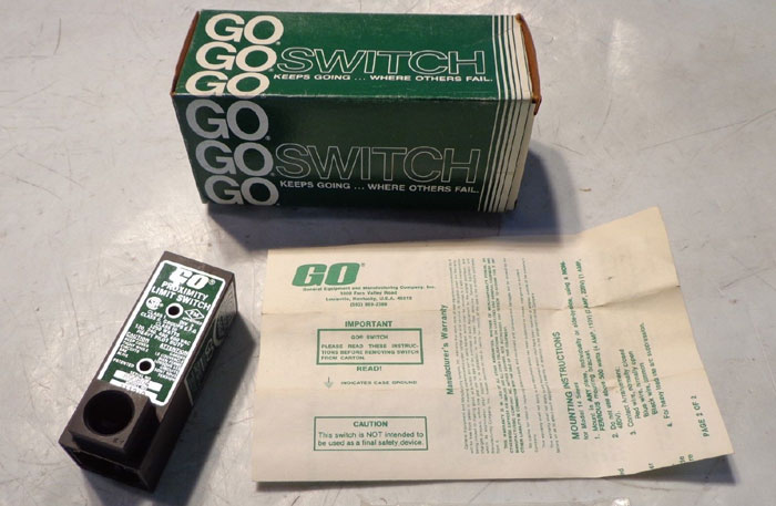 GO GENERAL PROXIMITY LIMIT SWITCH 111210 - LOT OF (5)