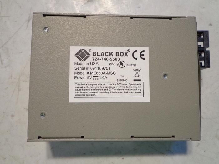 BLACK BOX 724746-5500 FLEXPOINT 232  - MODEL# ME660A-MSC