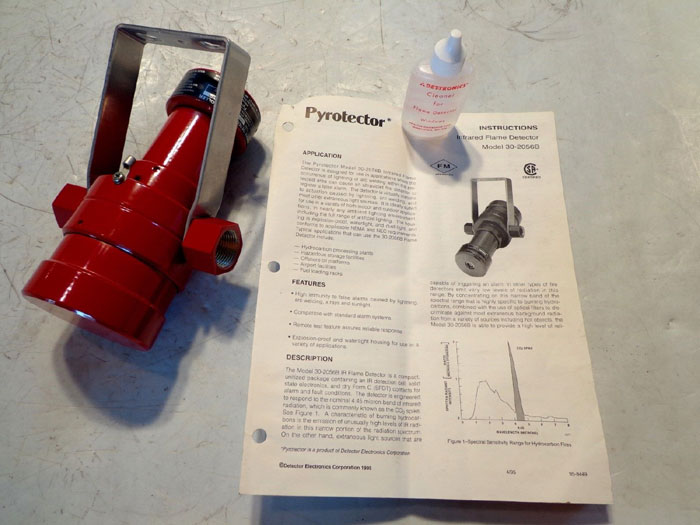PYROTECTOR INFRARED FLAME DETECTOR - MODEL 30-2056B
