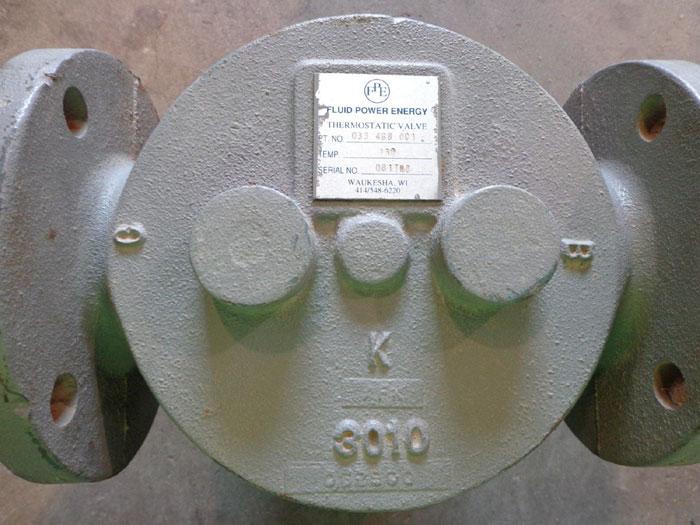 FLUID POWER ENERGY 3010 THERMOSTATIC VALVE 033 468 001