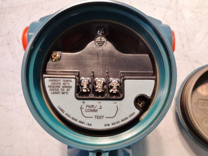 ROSEMOUNT PRESSURE TRANSMITTER 3051S2CD2A2B12A1AB4E5