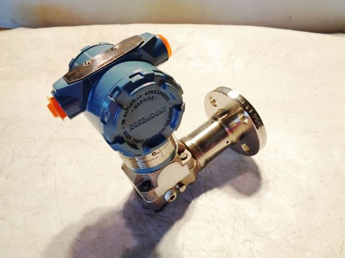 ROSEMOUNT SMART FAMILY PRESSURE TRANSMITTER 3051CG4A22A1AS0E5