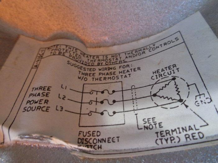 WARREN ELECTRIC SCREW PLUG IMMERSION HEATER, XRS-9-4-24SS*3