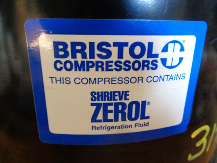 BRISTOL COMPRESSOR MODEL# H25G144DBEE  PART# 702501-1000-01