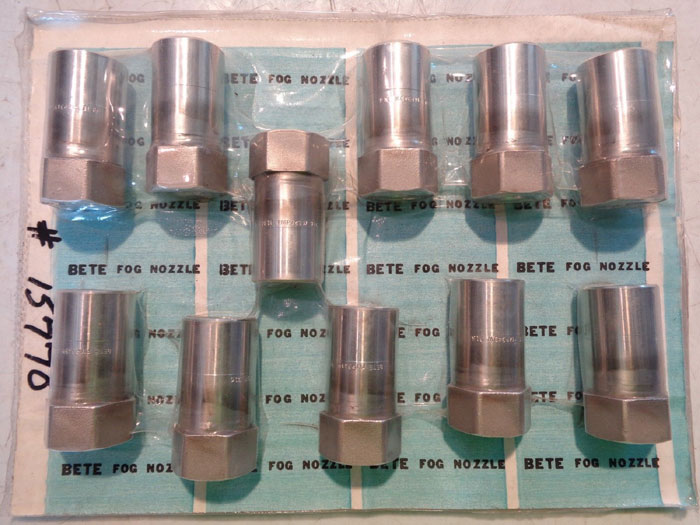 BETE FOG NOZZLE, PART#: FMP343W, FMP343M & FMP437M  LOT OF (27)
