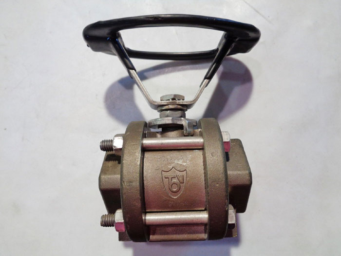 "TBV 1"" 3-PIECE RP THREADED MONEL BALL VALVE"