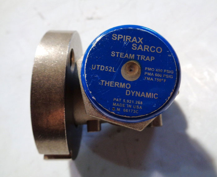 SPIRAX SARCO COOL BLUE THERMODYNAMIC STEAM TRAP UTD52L
