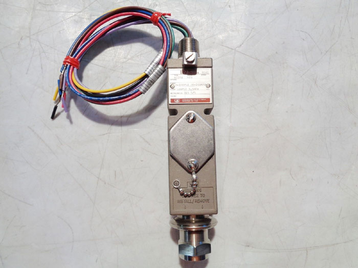 UNITED ELECTRIC FLAME PROOF PRESSURE SWITCH TYPE: H119A, MODEL#: 473