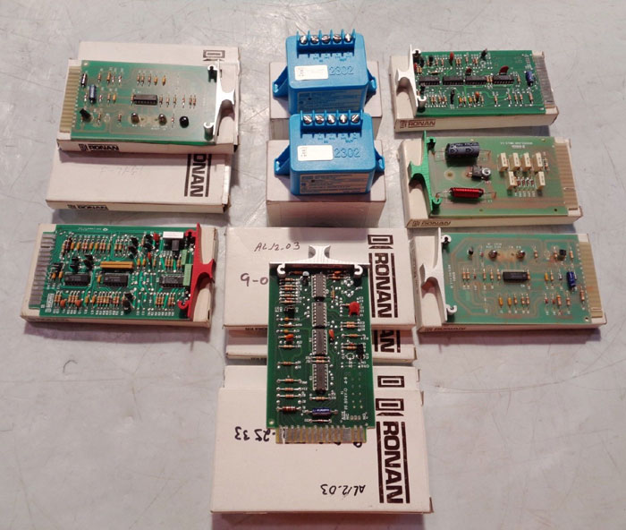 LOT OF (11) RONAN FLASHER MODULE AS-24, FHD24 & AMETEK LOOP ISOLATOR SC2302-1