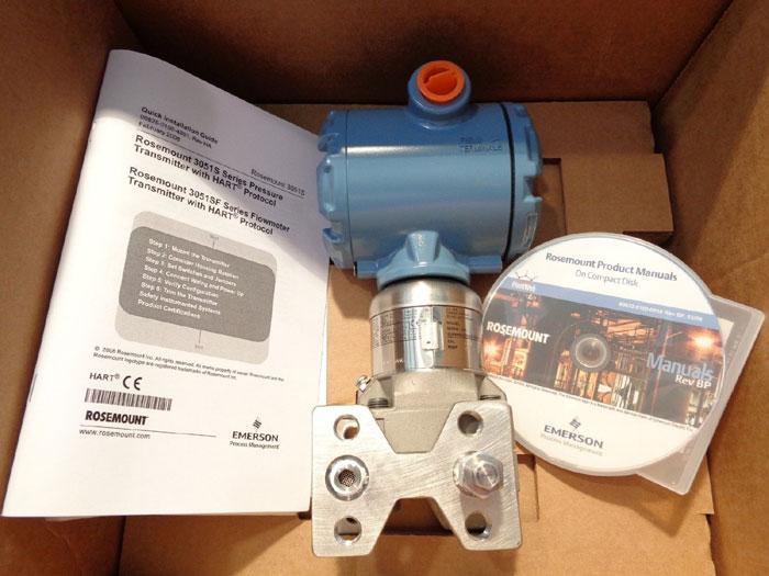 ROSEMOUNT PRESSURE TRANSMITTER W/ HART 3051S2CG5A2F12A1AKDL4